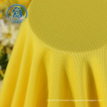 Sportswear Dri Fit Material, 100% Polyester Mesh fabric,150gsm Soccer Jersey Fabric
