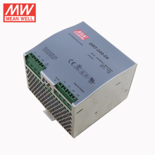 Mean Well 3 phase din rail switch power supply UL TUV CE CB 240W 24V DRT-240-24