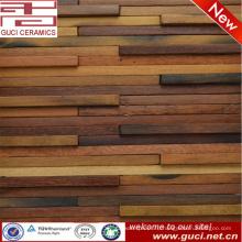 Китай производство деревянной мозаики плитки стены ванной комнаты
