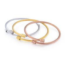 Persönlichkeit 14 K Gold Frau Hand Armband indischen Armreif Persönlichkeit 14 K Gold Frau Hand Armband indischen Armreif
