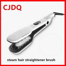 Выпрямление волос творческие волос Выпрямитель паровая щетка PRO паровой гребень