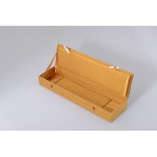 Hochwertige Gray Chip Board Customzied Schmuckschatulle