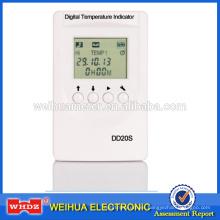 Termómetro digital con registrador de temperatura para alimentos para medicamentos para vacunas y transporte DD20S