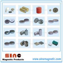 Различные формы сильного неодимового (ферритового) магнита