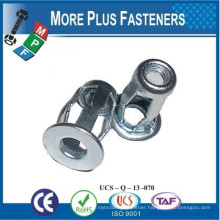 Made in Taiwan Stainless Steel Thread Zinc Grip Jack Nut