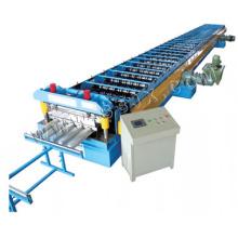 Máquina formadora de rolo de plataforma metálica