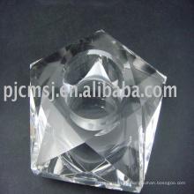 Новое Прибытие идеальный Кристалл цветок лотоса подсвечник