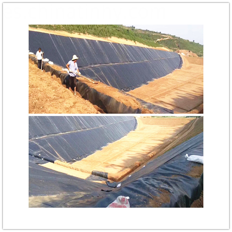 HDPE Smooth Geomembrane Liner for Shrimp