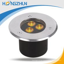 Redonda 12w llevó la lámpara subterráneo Meanwell del RGB conductor 3 años de garantía