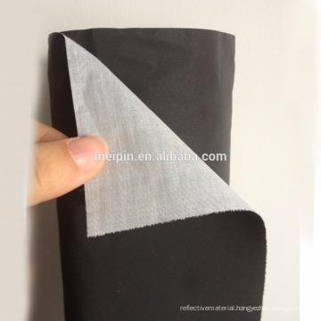 Black Reflective Fabric/black fabric