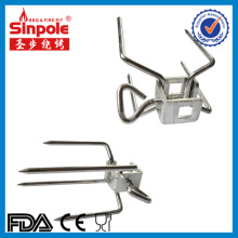 4-Sprong Stainless Steel BBQ Grill Fork with Ce/FDA Approved