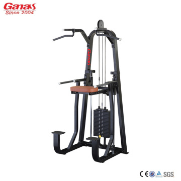 Professionele Gym Fitness Machine Dip Chin Assit