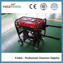 4kVA generador de gasolina conjunto con soldadura y compresor