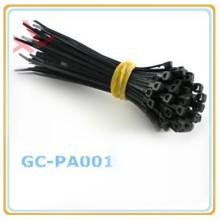 Auto blocage en nylon cable plastique zip cravate