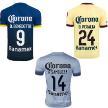 Soccer Jersey with Custom Name and No.
