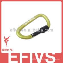 2013 carabiner de alpinismo com anel de travamento