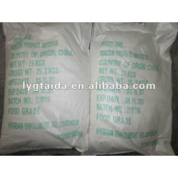 Dicalcium Phosphate Anhydrous DCP Anidrous FCC USP BP FABRICANTE