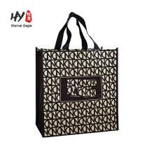 glossy lamination pp portable shopping bags