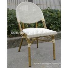 TC- (8) Silla moderna de la tela del teslin / silla que cena del textil