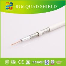 Quad Shield Rg-6 cabo coaxial para equipamentos CATV / CCTV