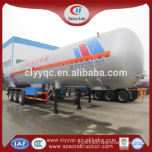 for sale cheap LPG semi Truck Trailer Large volume 3 axle fuel tank container semi trailer