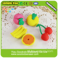 Orange Shaped Kids Erasers, papel de carta puzzle set