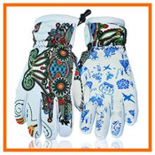 Gant de ski chauffant chauffant avec motif imprimé personnalisé (5648465)