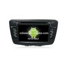 ¡Cuatro nucleos! Android 4.4 / 5.1 DVD del coche para SUZUKI BALENO 2015 con 7 pulgadas de pantalla capacitiva / GPS / Mirror Link / DVR / TPMS / OBD2 / WIFI / 4G