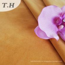 Velvet flocado de tela para muebles