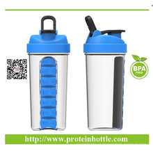 Suplemento de proteínas Protein Powder Shaker Bottle 700ml
