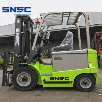 FB25 2500kg Forklift Powered Elektrik