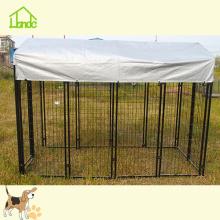 Verwendung von großen Hundekäfigen im Freien