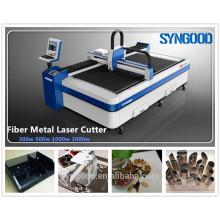 Machine de coupe de fibres 0.5-16mm épaisseur Conception ouverte 1500 * 3000mm