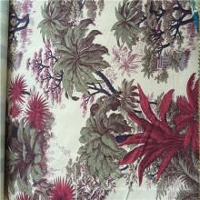 Tela de poliéster, Tela de impresión de flores