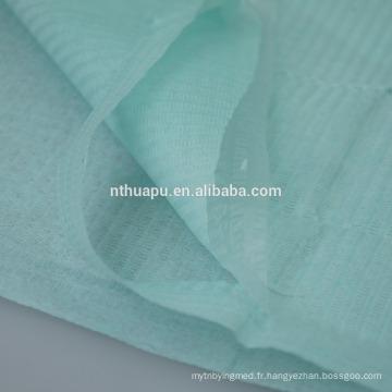 Bavoirs dentaires avec 2 couches de papier 1 ply poly
