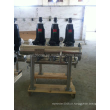Filtro Automático de Dick de Aço Inoxidável para Tratamento de Água de Irrigação