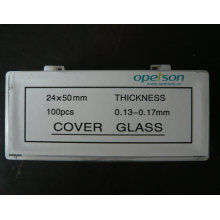Microscopic Cover Slip with Ce Approved