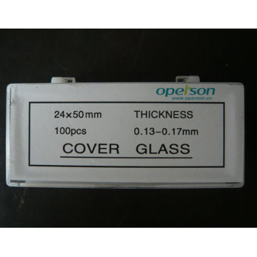 Disposable Microscopic Cover Slip with Ce Approved
