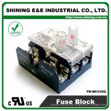 FB-M033SQ UL genehmigt gleich Bussmann 3 polig 30A keramische Sicherungsbasis