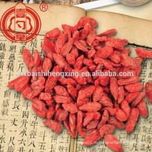 China ningxia wolfberry goji bayas secado
