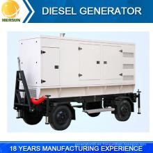 Nuevo diseño móvil / trailer montado generador diesel para la venta
