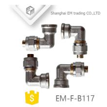 EM-F-B117 AL-PEX-AL Brass Tee Pipe