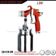 Venda quente HVLP pistola com 1000ml ventosa L200