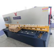 Qc12y-16x2500 cortadora hidráulica del haz de balanceo / cortadora de placas de acero inoxidable