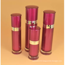 Cosmetic Acrylic Lotion Bottle, New Round Series