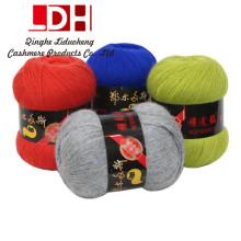 Outono e Inverno Mink cabelo longo Mink Cashmere fio fio de linha de lã Tricô