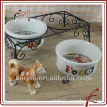 Фарфоровая чаша для домашних животных