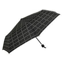 Wasserdichter zusammenklappbarer Regenschirm mit Punktdesign
