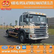 JAC 4X2 10m3 160hp gancho brazo camión de basura fábrica de garantía de calidad directa