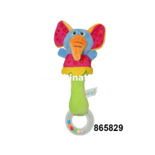 Baby Elephant Music Rattle Bell Toy (865829)